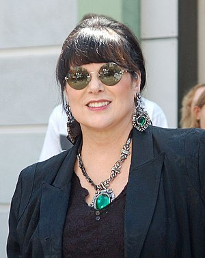 Ann Wilson - Wilson receiving a star on the Hollywood Walk of Fame, September 2012