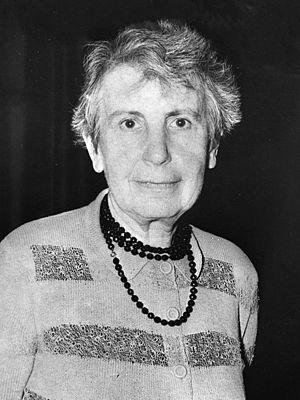 Anna Freud - Freud in 1957