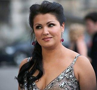 Anna Netrebko Russian-born Austrian operatic soprano