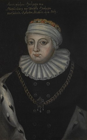 Anna of Mecklenburg - Anna of Mecklenburg