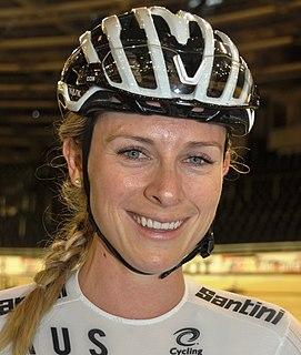 Annette Edmondson Australian cyclist