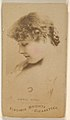 Annie Robe, from the Actors and Actresses series (N45, Type 1) for Virginia Brights Cigarettes MET DP830512.jpg