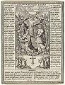Annunciatie en gebeden uit de Lauretaanse Litanie, RP-P-OB-66.995.jpg