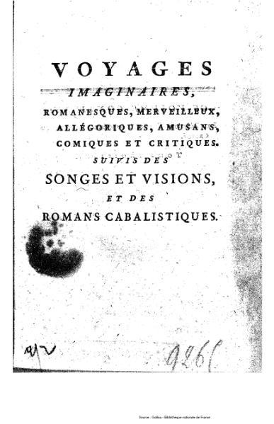 File:Anonyme ou Collectif - Voyages imaginaires, songes, visions et romans cabalistiques, tome 3.djvu