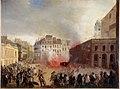 Anonymous - Prise du château d'eau, place du Palais-Royal, le 24 février 1848. - P822 - Musée Carnavalet.jpg