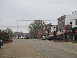 Idabel, Oklahoma - Part of downtown Idabel