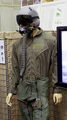 MSF830 Anti-g Suit trousers and cummerbund fitted over a flying suit 1709ec016fc