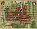 Antique map of Delft, Netherlands by Blaeu J. 1649.jpg