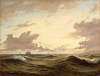 Anton Melbye (painter) - Seascape - WGA14750.jpg
