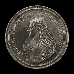 Contessina de' Bardi, died 1473, Wife of Cosimo de' Medici il Vecchio [obverse]