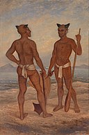 Antonion Zeno Shindler - Marquesan Men - 1985.66.165,720 - Smithsonian American Art Museum.jpg