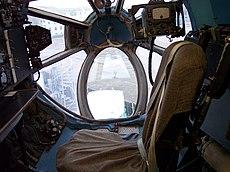 Antonow An-22 Navigator Cockpit