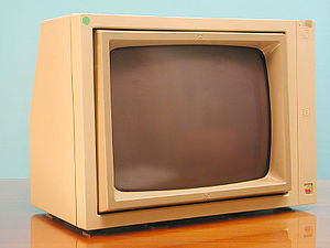 Apple displays - The Monitor //, a monochrome CRT for the Apple II