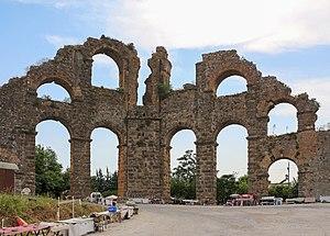 Aspendos - Aqueduct of Aspendos