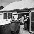 Arbeiders aan het werk bij de fosfaatmijn van het bedrijf Curaçao bij de Tafelbe, Bestanddeelnr 252-7409.jpg
