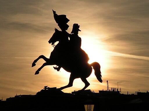 Archduke Charles monument in sunset - panoramio