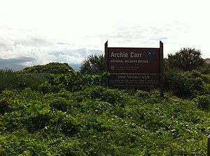 Archie Carr National Wildlife Refuge - Image: Archie Carr National Wildlife Refuge 002