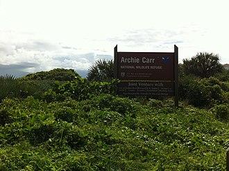 Archie Carr National Wildlife Refuge - Image: Archie Carr National Wildlife Refuge 002