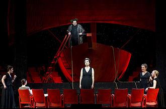 Ariadne auf Naxos - Anne Schwanewilms (Ariadne) and Johan Botha (Bacchus), Hamburg State Opera 2012