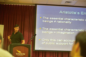 Institute for Humane Studies - John Hasnas lecturing at Towson University.