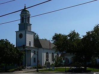 Calvary Methodist Church - A photo of the church, taken in 2008