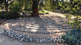 Arlington Garden - Image: Arlington Garden Labyrinth