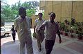 Armoogum Parsuramen Visiting NCSM Headquarters With Tapan Kumar Ganguly And Saroj Ghose - Calcutta 1994 388.JPG