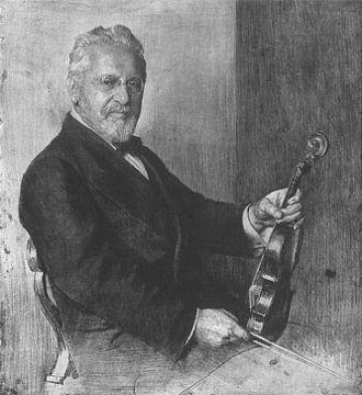 Arnold Rosé - Arnold Rosé. Engraved by Ferdinand Schmutzer (1922)