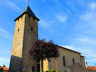 Arraincourt - The church in Arraincourt