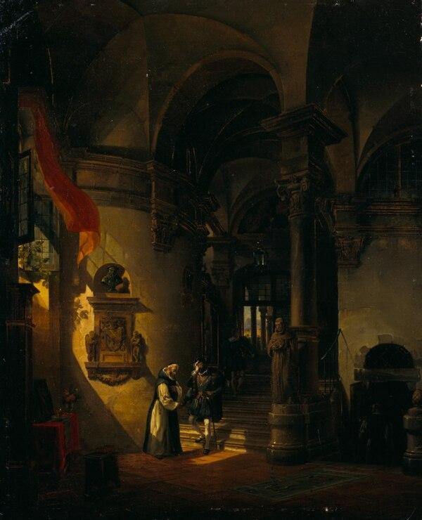Gallerie di piazza scala iii wikibooks manuali e libri for Interno a un convento
