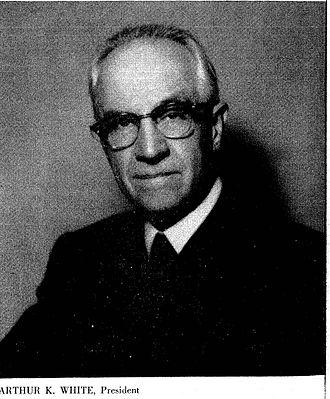 Arthur Kent White - Image: Arthur Kent White circa 1965