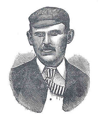 History of Test cricket from 1884 to 1889 - England captain and tour-promoter, Arthur Shrewsbury.