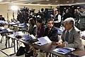 Asambleístas Paola Pabón, Gina Godoy, Jaime Abril y Carlos Velasco participan de la conferencia de prensa de la 128 Asamblea de la Unión Interparlamentaria (8576883769).jpg