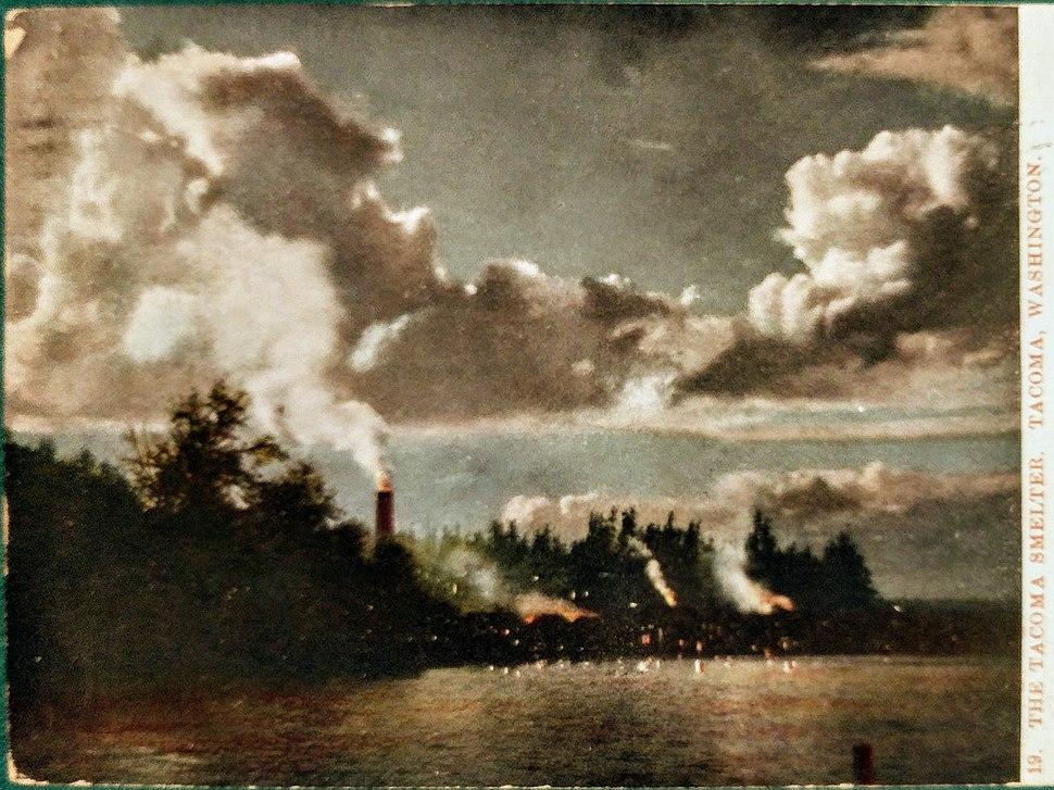Asarco Tacoma 1909 postcard