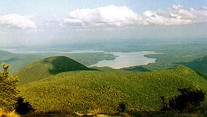 Ulster County, New York - Ashokan Reservoir from Wittenberg