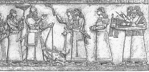 Ashur-nasir-pal II hunt