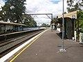 Asquith railway station platform 2.jpg