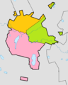 Astana districts coloured.png