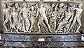 Atene, sarcofago con achille licomede, 240 dc ca, da roma, collez. borghese, 01.JPG