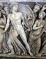 Atene, sarcofago con achille licomede, 240 dc ca, da roma, collez. borghese, 05.JPG