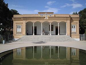 The Zoroastrian temple of Yazd.