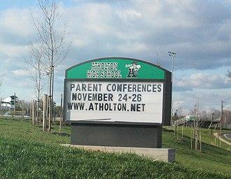 Atholton High School - Image: Atholton High School (Maryland)