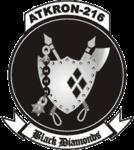 Attack squadron VA-216 USN emblem.png