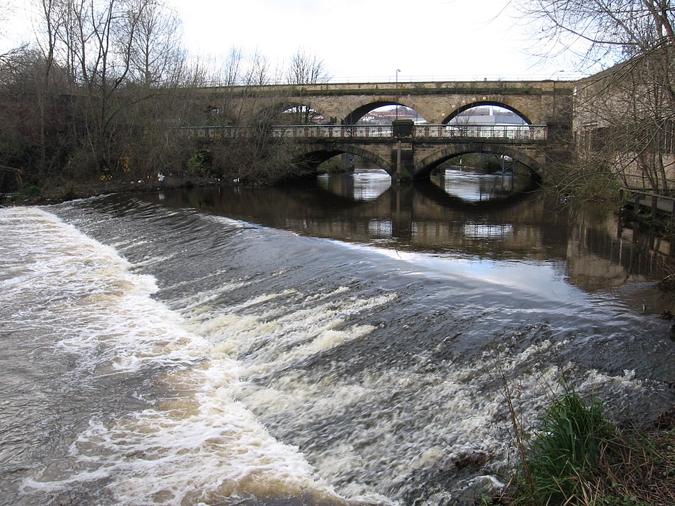 Attercliffe - Burton Weir and Norfolk Bridge