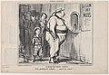 Au Bureau de l'Ambigu Comique, from Croquis Parisiens, published in Le Charivari, August 4, 1856 MET DP876512.jpg