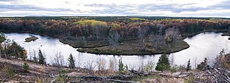 Huron National Forest - The Au Sable River in the Huron National Forest