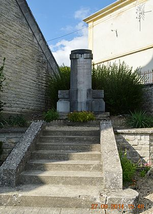 Aubigny-en-Laonnois - Aubigny-en-Laonnois War Memorial