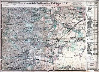 Kalksburg - Kalksburg and its surroundings in 1872