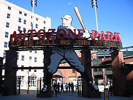 AutoZone Park outside.jpg