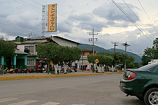 Tezonapa human settlement in Mexico